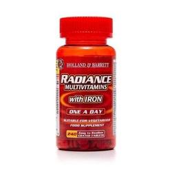Radiance Multiwitaminy i Żelazo 1 na Dzień 240 Tabletek