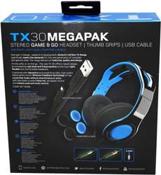 TX30 STEREO WIRED HEADSET Megapack PS4