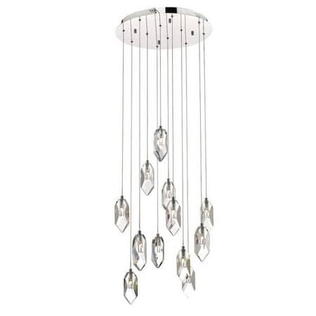 Motyw Kryształowy 12LT Lampa Sufitowa Motyw Kryształowy LED