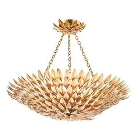 VOLCANO 5LT Lampa Sufitowa Kolor Złoty