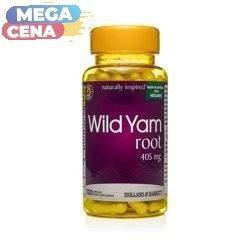 Korzeń Dzikiego Pochrzynu 405 mg Produkt Wegański 100 Kapsułek