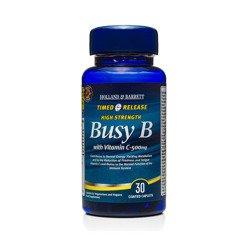 Witamina B Complex z Witaminą C 500 mg o przedłużonym uwalnianiu 30 Kapletek